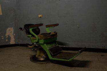 Creepy Medical Chair, Old Geelong Gaol 5 by hidden-punk