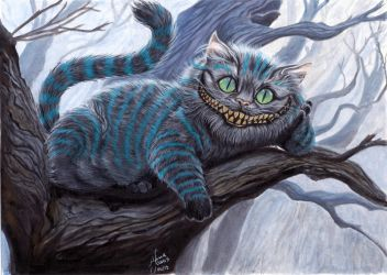 Cheshire Cat by Anninhabs