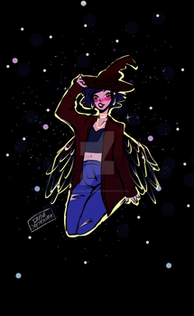 Witch Angel by IllusiveDayDreamer