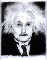 Albert Einstein by canadrine