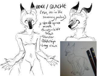 character concept: quiche by Lepedi