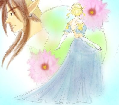 Zeldanime quick sketch by crazyfreak