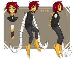 CM: Spine - Reference Sheet by Sil3ntRain