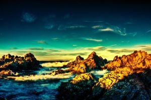 Rugged Newfoundland Shore HDR4 by Witch-Dr-Tim