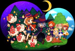 Harvest Moon Lost Valley - Wizard Love by Rea-Chwan
