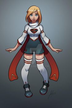 Supergirl by Jp-files