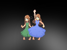 Sicily and Sardinia (Sprites) by LuckyJiku