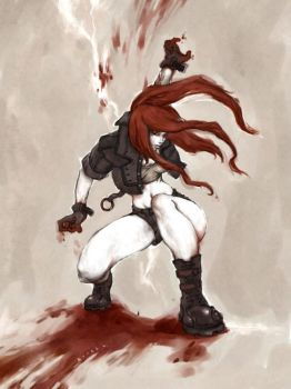 leona BLOODLUST by kunkka