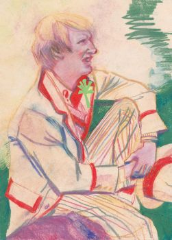 The Fifth Doctor by jossujb