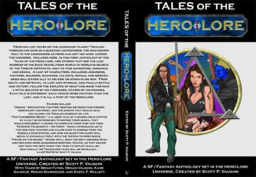 Hero-Lore Anthology mock-up by DocRedfield