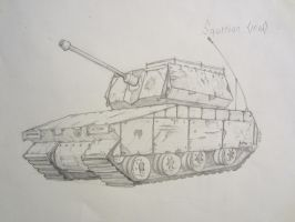 Tank sketch by Coolb3rt