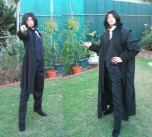 Full View Snape Costume by ShadowWalkerInc