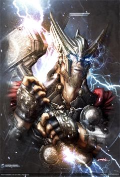 avengers thor ::: earth's mightiest series #1 by johngiang