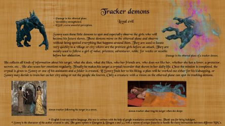 Tracker Demons profil DA by horpheu
