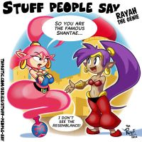 Stuff people say 273 by FlintofMother3