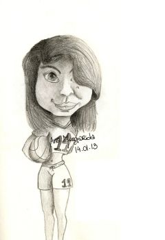 Caricature by Picolicas