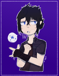 Prince Noctis Collab by StoleYourCookiez