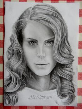 Lana Del Rey by AliceSketch