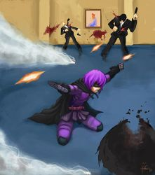 Hit Girl by Jie-Kageshinzo