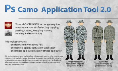 camo application tool by Arctic-Hunter