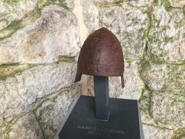 Castle Stock (43) Medieval Helmet by sirkeht