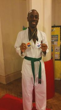 My first Gold and Silver medal in Taekwondo by TEMPHUiBIS