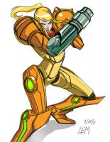 Samus by fillmarc