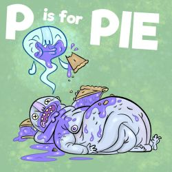 ALPHAMABET OF DANGEROUS - P is for PIE by FLUMPCOMIX