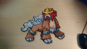 Pokemon #18 - Entei by MagicPearls