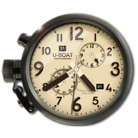 UBoat Clock Icon in all major formats by yereverluvinuncleber