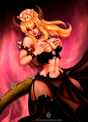 Bowsette by FASSLAYER