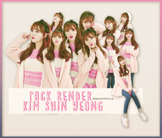250109 PACK RENDERS KIM SHIN YEONG by LuHannie1071999