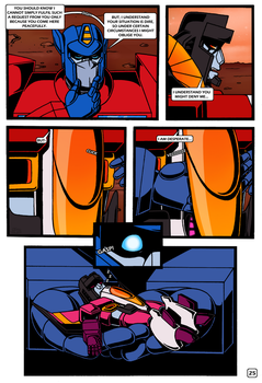 Transformers: Bloodline PAGE 25 by KingRebecca