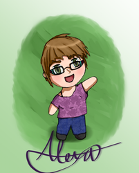 Chibi Me - New Tablet Practice by Aikuna