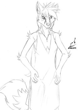 AnthrOhio Example Art 2: Rachel Dress by prdarkfox