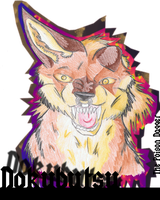 Dokubutsu Badge by DarkStarWolf07
