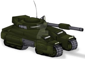 DT-13 Steel Hammer Main Battle Tank by MedronPryde