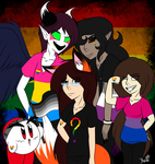 Show Your Colors (Pride Month 2018) by KATEtheDeath1