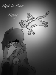 R.I.P Kenny by CobaltScorpio