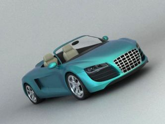 Audi r8 spyder I by zoom-from-inside
