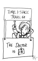 The Doctor Is In by euclidstriangle