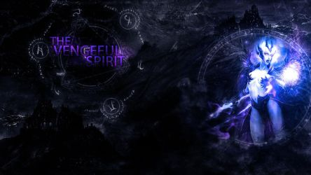The Vengeful Spirit (DoTA2) Wallpaper by ekzan