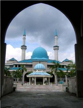 IIUM Mosque by muslimz