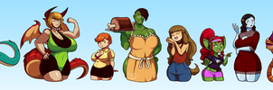 March of the Monster Moms by Blazbaros