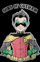 Sons of Gotham - Robin by jmascia