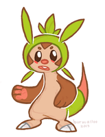 Chespin by burmalloo