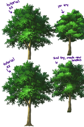 Tree results by Lady-Suchiko