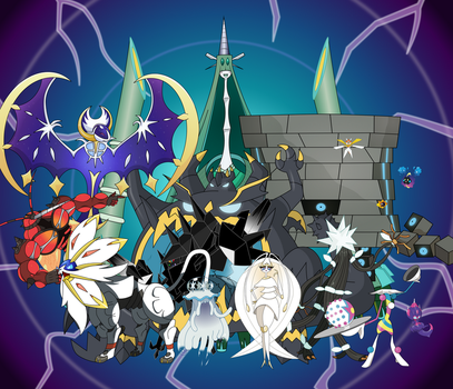 All Ultra Beasts by AwokenArts
