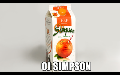 OJ Simpson by PutinPot