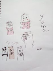 We Bare Bears OC: Yuma by JulieBnHaLover247
